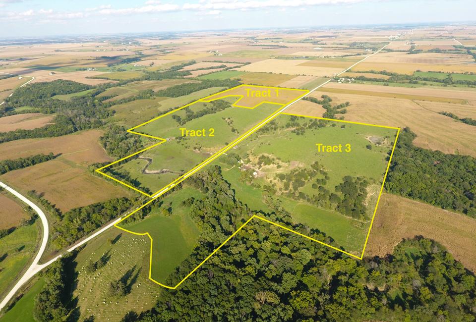 Jefferson County Iowa 155 5 Acres Farm Land And Pasture
